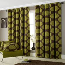 Green And Brown Curtains Green Curtains Curtains All Curtains Lime Green Ring Top