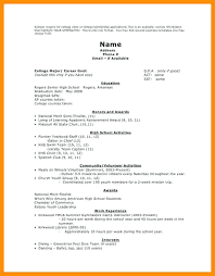 resume format for college college scholarship resume template scholarship resume student