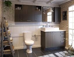 cuisine salle de bains 3d armoires salle de bain 3d scandinave illustration 3d