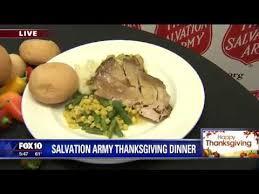 salvation army thanksgiving dinner preparations underway
