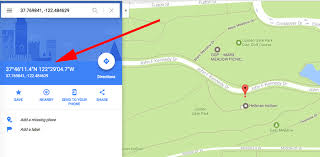map using coordinates how to find the latitude and longitude of a location using