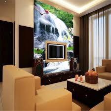 online buy wholesale waterfall wall mural from china waterfall fresh designs country landscape waterfall wallpaper 3d wall mural rolls for office living room hall hotel