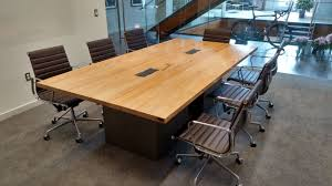 White Gloss Meeting Table Captivating Custom Conference Tables Rectangle Shape Reclaimed