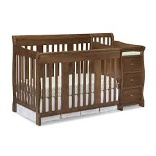 Black Convertible Crib by Crib With Baby Changer Creative Ideas Of Baby Cribs