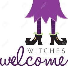 witch legs will make a great halloween decoration royalty free