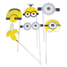 photo booth accessories minions photobooth props