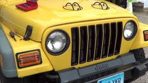 jeep wrangler front grill jeep wrangler tj update 18