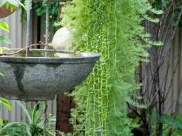 Garden Decor Accessories Landscape Around Water Fountain Backyard Design Ideas Plants