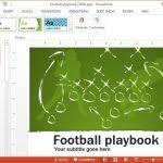 american football powerpoint template free download reboc info