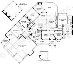 smokey mountain cottage rustic floor plan cottage floor plan