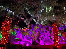 ethel m chocolate factory las vegas holiday lights a season that s merry bright at ethel m holiday cactus garden