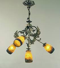 French Chandelier Antique Antique French Chandeliers By Muller Daum Degue Schneider Some