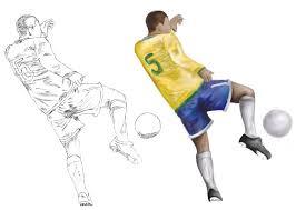 sketches soccer player by prissr on deviantart