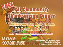 thanksgiving day menus all community thanksgiving dinner place