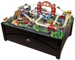 carousel train table set 58 wood train set with table educational promotional toys child