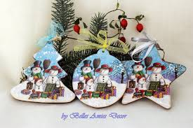 christmas decorations wooden christmas ornaments xmas