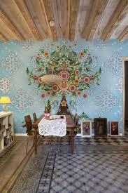 papier peint pour salon salle a manger décoration salle à manger éclectique en 25 photos top