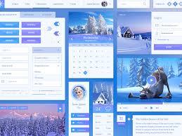 snowflake ui kit sketch freebie download free resource for