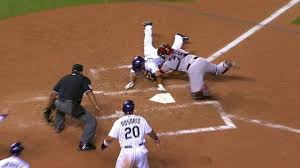 home plate out call stands after home plate review in colorado mlb com