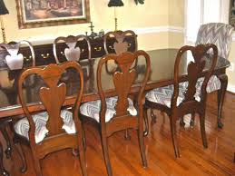 empty nest estate sales decorator s dream of a sale fabulous hardin queen ann dining room set