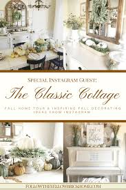 follow the yellow brick home farmhouse style fall home tour and