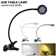 Bedside Reading Lamp Clip Light For Bed 2 Unique Decoration And Led Flexible Usb Clip