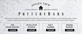 home interior design services free interior design services pottery barn