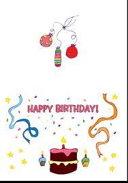 printable birthday card decorations gorgeous free printable birthday cards inside amazing article