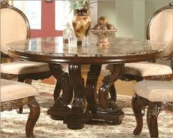 amazon dining table and chairs amazon com marble top round dining table in cherry mcfrd0017 6060
