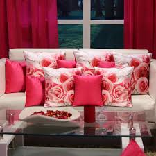 pillow covers for sofa mesleep buy 5 get 5 cushion covers with curtains free cushion
