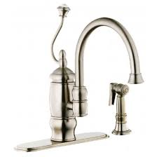 belle foret kitchen faucet 03ss belle foret single handle kitchen faucet with matching