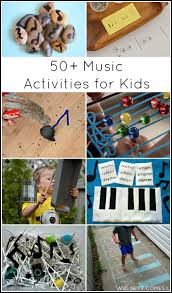 50 music activities for kids and next comes l