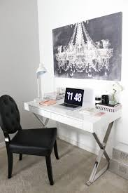 chic office decor white office decor a chic black white u0026amp gold office