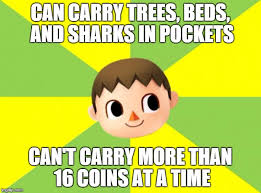 Animal Crossing Meme - bad luck villager imgflip