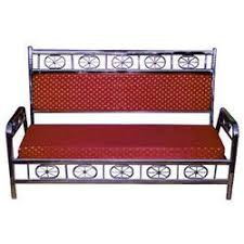 Stainless Steel Sofa Set In Hyderabad Telangana SS Sofa Set - Steel sofa designs