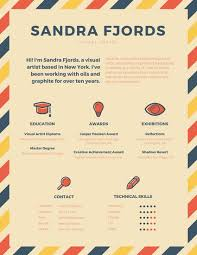 Free Infographic Resume Templates Infographic Resume Templates Canva