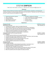 Sample Resume For Bank Jobs by Shipping And Receiving Job Description Shipping Receiving Clerk