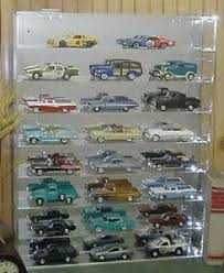diecast toy vehicle display cases stands ebay diecast acrylic model car display case 1 32 holds 24 new in box made