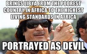 Gaddafi Meme - good guy gaddafi