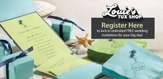 register wedding wedding registration with louie s tux shop louie s tux shop