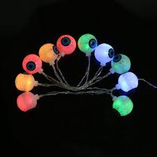 Halloween Eyes Lights Online Shop 1 5m 10 Led Ghost Eyes Bat String Lights Lamp For