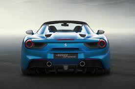 ferrari headlights ferrari 488 spider revealed lighter more powerful than 458