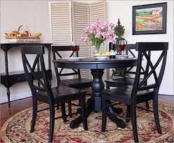 Inspiring Black Kitchen Table And Chairs with Best Black Dining
