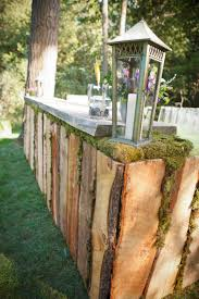gorgeous handmade wooden outdoor bar wedding pinterest bar