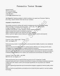 Qa Resume Sample Agile Tester Cover Letter