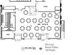 Floor Plan Event by Event Venues The Lyric U2013 Casper Wyoming