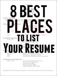 Top Job Sites To Post Resume by 613 Best Career Search Resumes Images On Pinterest Resume Tips