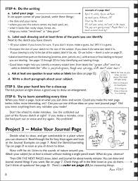 observing nature a journal sketching guide plans