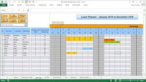 Staff Roster Template Excel Free The Staff Leave Calendar A Simple Excel Planner To Manage Staff
