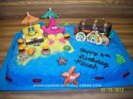 coolest homemade spongebob and friends cakes